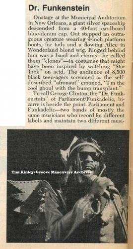 George Clinton - Newsweek November 1976