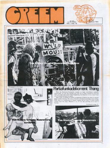 Funkadelic - Creem 1970