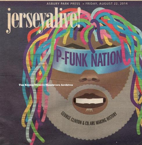 George Clinton - Asbury Park Press Aug 22 2014