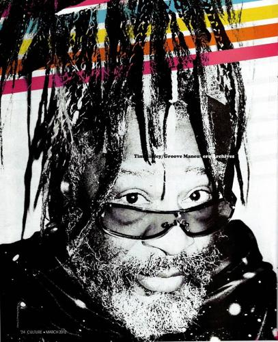 George Clinton - Culture Magazine March 2012