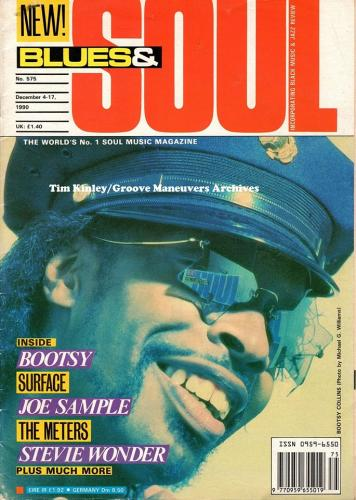 Bootsy - Blues & Soul Magazine December 1990