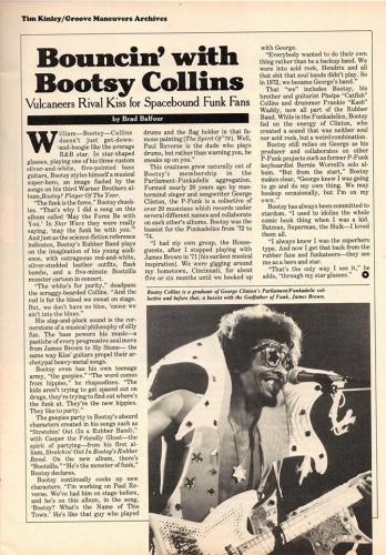 Bootsy - Circus Magazine May 25 1978