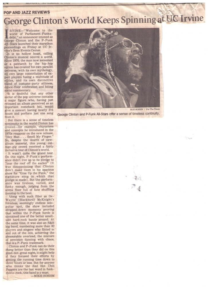 GC Irvine CA - 11-1-1993 LA Times Review