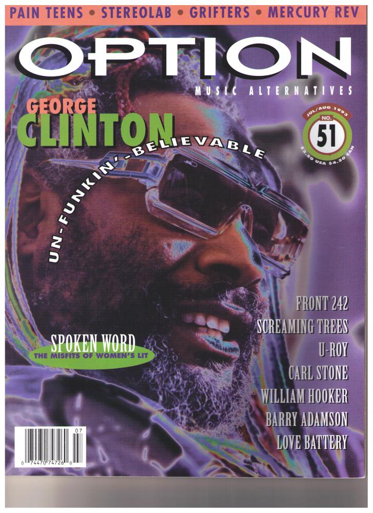 George Clinton - Option Magazine 1993