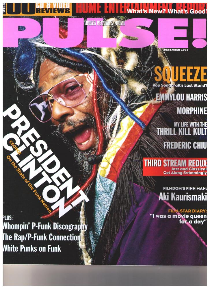 George Clinton - Pulse Magazine December 1993