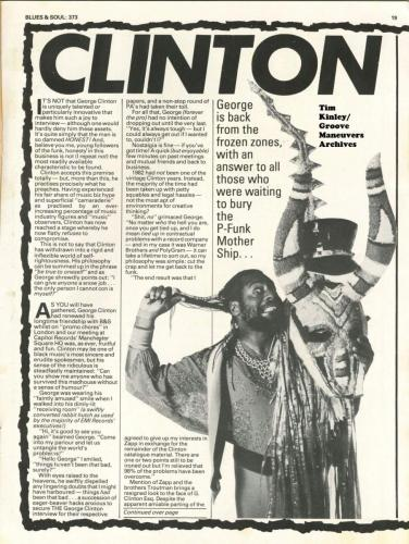 George Clinton - Blues & Soul